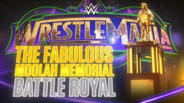 The WWE women's division will stage the first Fabulous Moolah Memorial battle royal at this year's WrestleMania