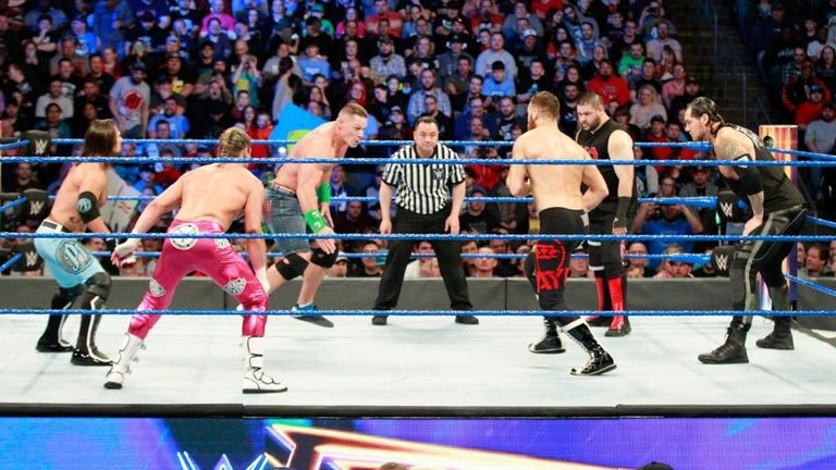 Vote for your favourite match at WWE Fastlane!
