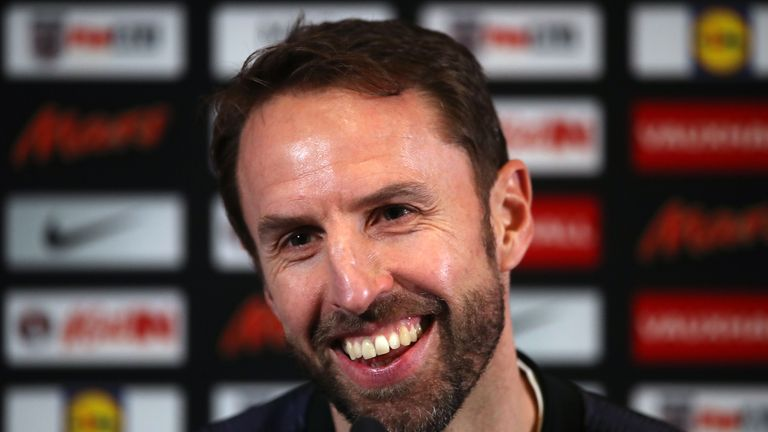 Gareth Southgate has favoured a three-man defence in recent England matches