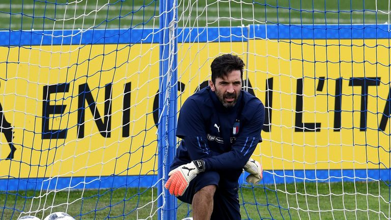 Buffon called time on his international career in November after Italy failed to qualify for the World Cup