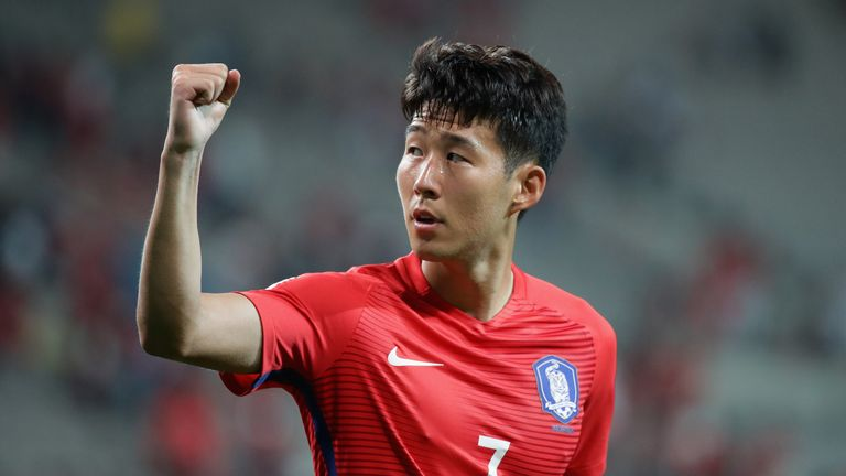 Heung-Min Son will be a key figure for South Korea at this month's Asian Games