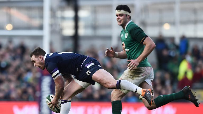 James Ryan (pictured) is challenging Toner for a place in the starting line-up against England