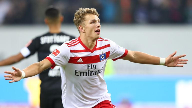 Jann-Fiete Arp is the great young hope at Hamburg