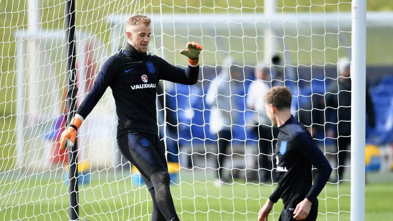 Joe Hart says his omission from the squad is 'hard to take'