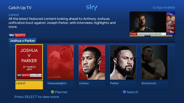 Get the best shows, fights and interviews On Demand