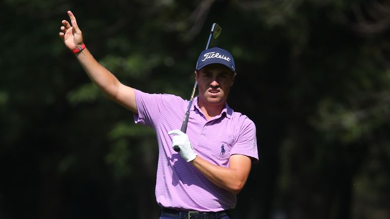 Justin Thomas hit top form with a 62