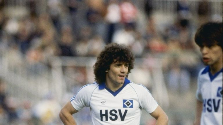 Kevin Keegan fired Hamburg to the 1978/79 Bundesliga title