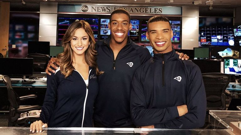 LA team hires first male National Football League cheerleaders