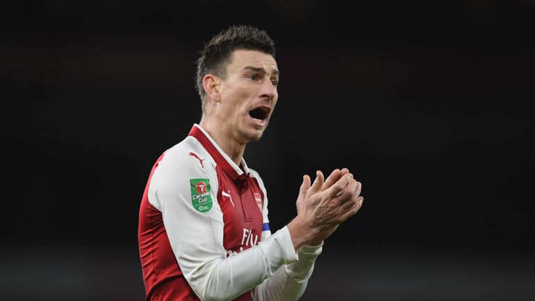 Koscielny will be sidelined for the World Cup this summer