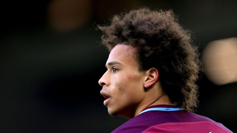 Leroy Sane has become a key figure for champions Manchester City