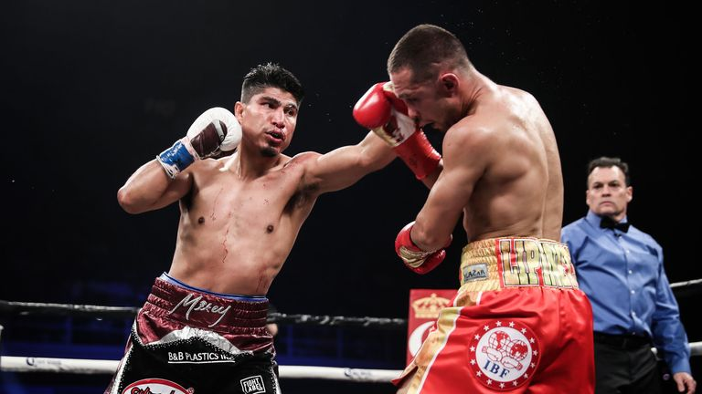 Mikey Garcia took the IBF super-lightweight belt from Sergey Lipinets in March