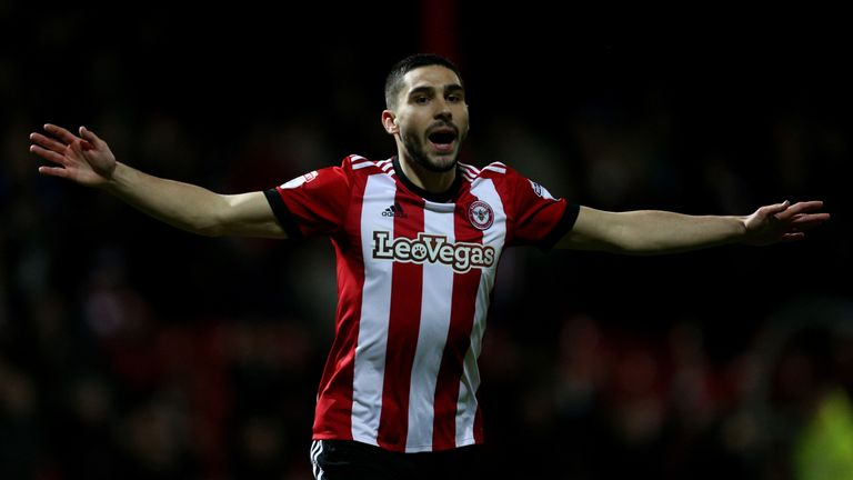 Neal Maupay is doubtful for Brentford's first game of the season