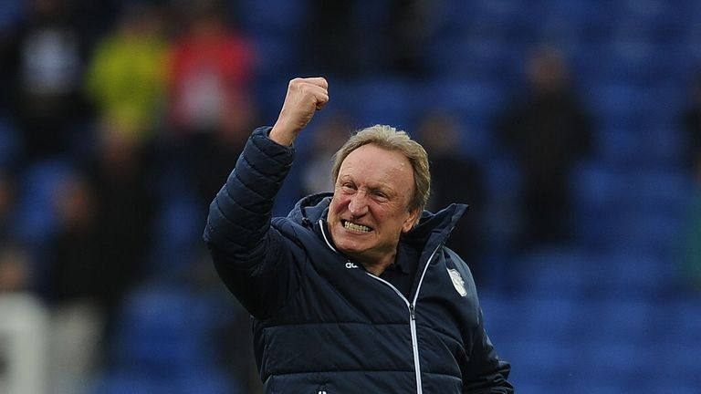 Neil Warnock secured promotion on the last day of the Championship season