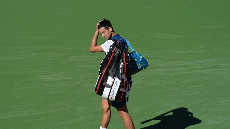 Djokovic, Zverev upset at Indian Wells