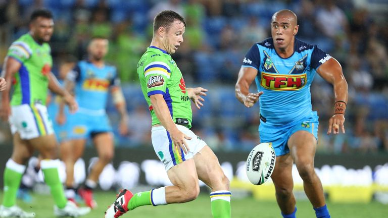 Canberra Raiders started their season with a 28-30 loss to the Gold Coast Titans