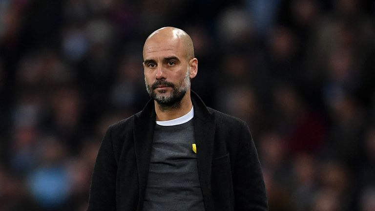 Guardiola will not wear the yellow ribbon during matches any more