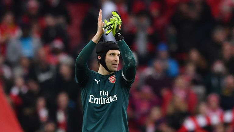 Petr Cech spent 11 years at Stamford Bridge before joining Arsenal