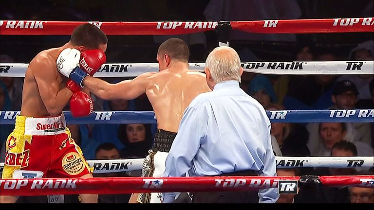 Quigg had Valdez in trouble in the fifth and again in the 11th