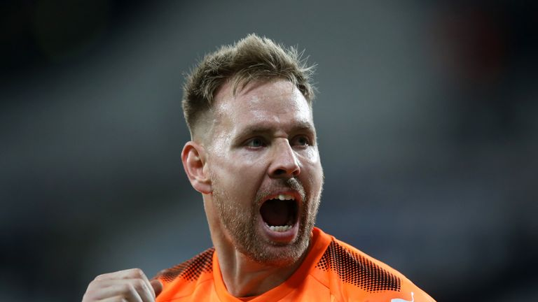 Rob Elliot has backed Newcastle to stay up this season