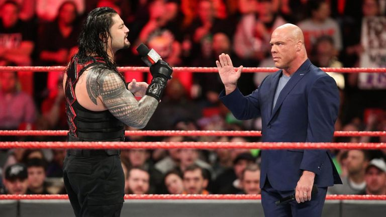 Brock Lesnar Doesn't Appear On WWE Raw, Roman Reigns Confronts Vince McMahon