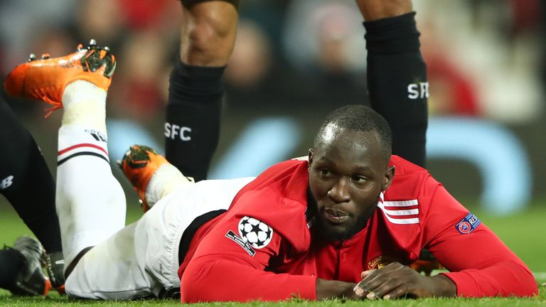 Romelu Lukaku could not prevent United's exit