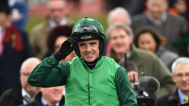 Ruby Walsh had two winners on Tuesday, including Footpad in the Racing Post Arkle