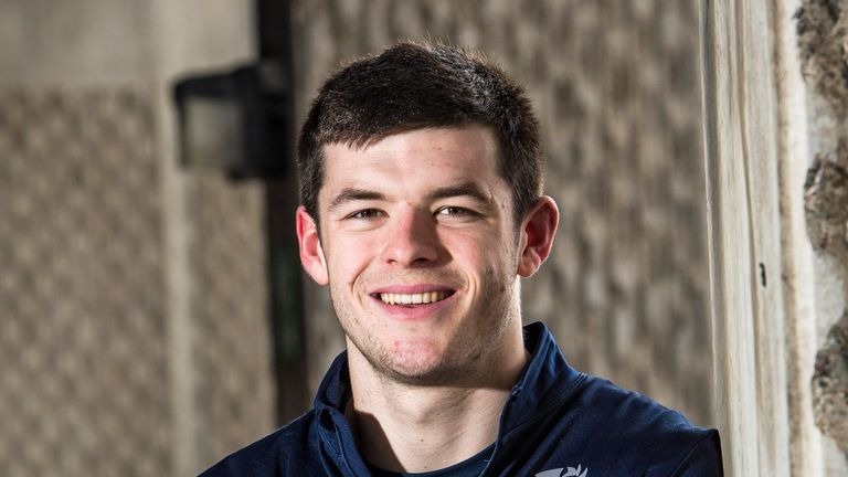 Edinburgh's Blair Kinghorn makes his first Scotland start on Saturday