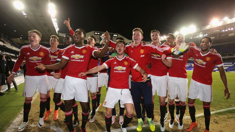 McTominay won the U21 Cup with Manchester United