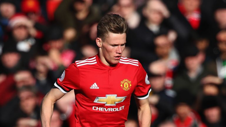English-born Scott McTominay has chose to  play global  football for Scotland