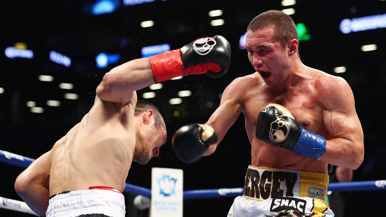 Sergey Lipinets is defending his IBF super lightweight belt in San Antonio