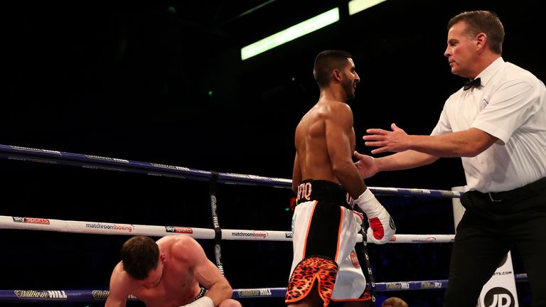 Atif Shafiq came out on top in his local derby with Lee Appleyard