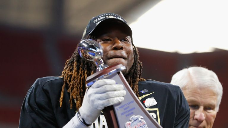 Griffin helped the UCF Knights to victory in the Peach Bowl on New Year's Day