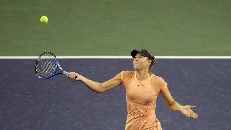 Sharapova has struggled in 2018 so far