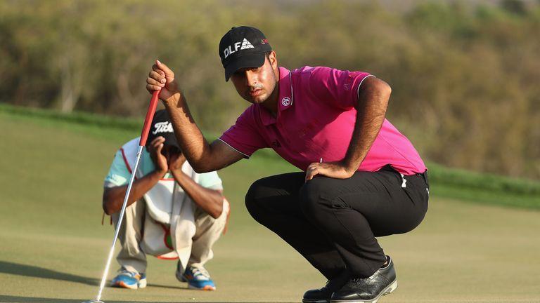 Sharma broke the course record with his nine-birdie 64