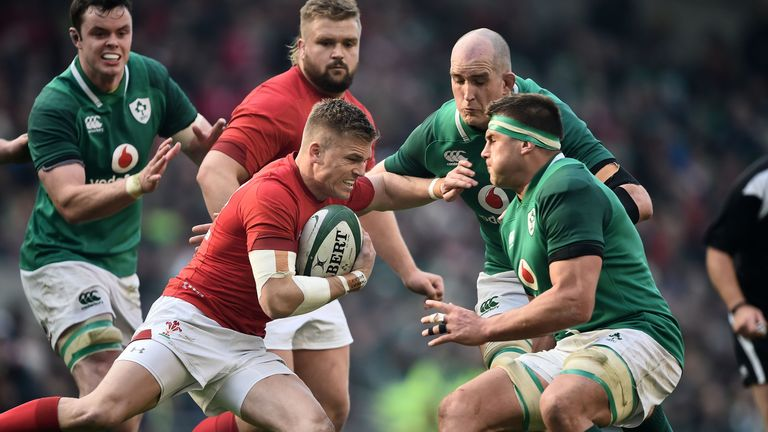 Ireland overcame Wales in Dublin 37-27 during round three