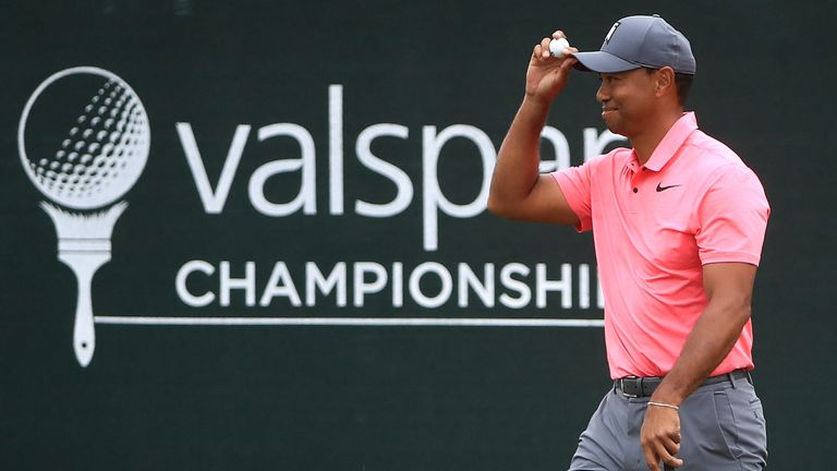 valspar championship  tee times for the final round in
