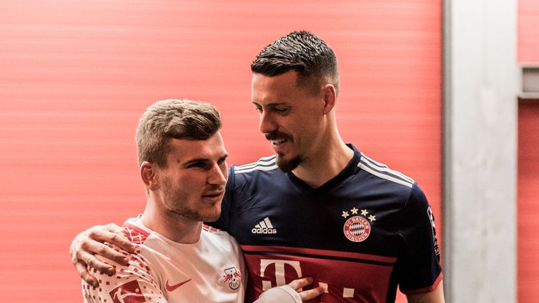 Werner and Wagner went head to head last weekend, with both players scoring as RB Leipzig beat Bayern Munich
