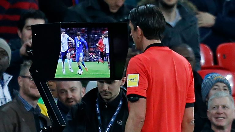 VAR will be used at all 64 matches at this summer's World Cup