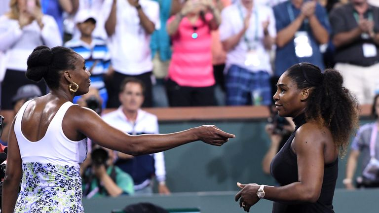 Venus Williams was facing her sister Serena for a 29th time