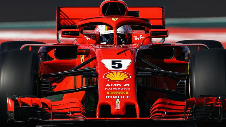 Formula One: Vettel sets 'meaningless' Barcelona lap record