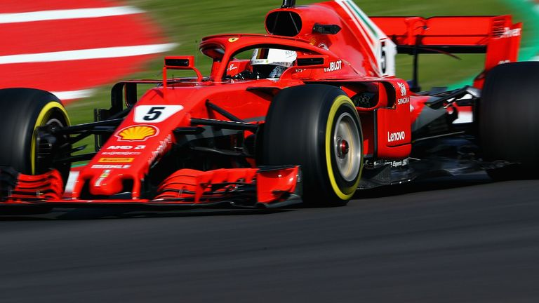 Ferrari clocked the fastest one-lap speed in Barcelona