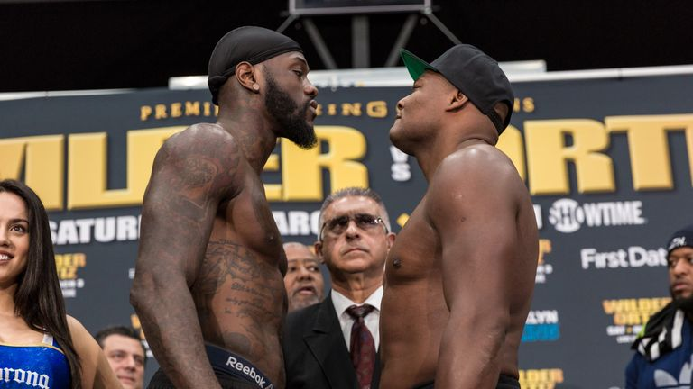 Deonty Wilder and Luis Ortiz's final face-off (PBC)