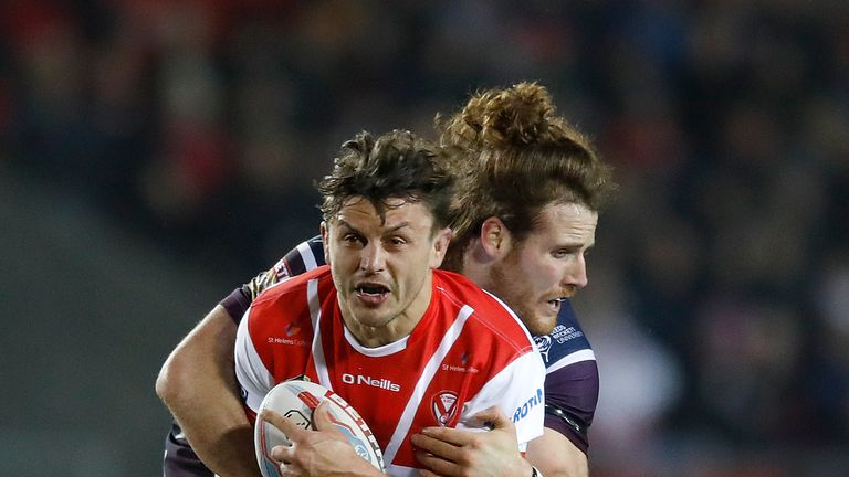 St Helens' Jon Wilkin says he can't wait to 'attack' Hull in the quarter-finals
