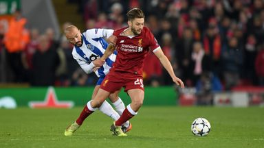fifa live scores - Adam Lallana started against Porto but is he ready for a bigger role?