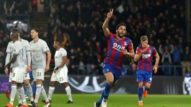 Andros Townsend has been an inspirational player for Crystal Palace this season