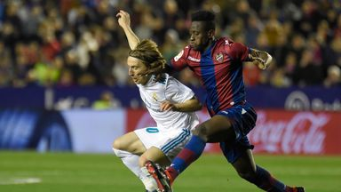 Emmanuel Boateng scored the winner for Levante