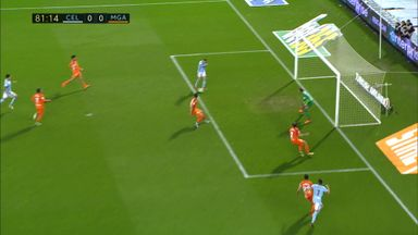 fifa live scores - WATCH: Celta Vigo striker Iago Aspas misses shocking sitter against Malaga