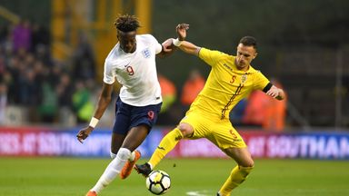 Tammy Abraham scored a late winner in England's tournament-opening win over China