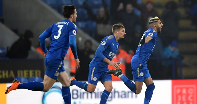 Leicester's Riyad Mahrez: Joining Man City would have been 'a good move'