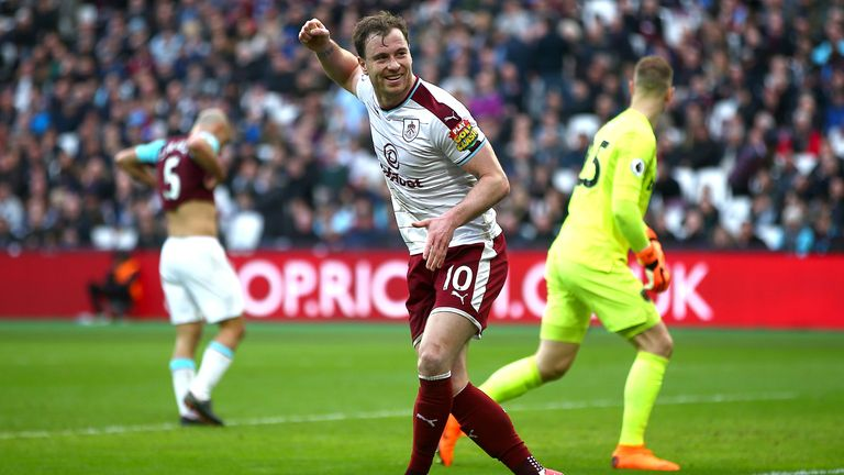 West Ham 0-3 Burnley